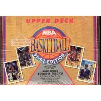 1991/92 Upper Deck Hi # Basketball Jumbo Box