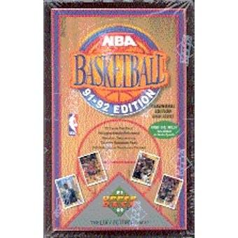 1991/92 Upper Deck Hi # Basketball Hobby Box