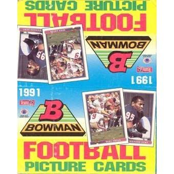 1991 Bowman Football Rack Box