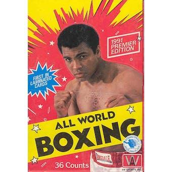 1991 All World Boxing Hobby Box
