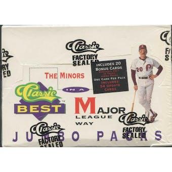 1991 Classic Best Minors Baseball Jumbo Box