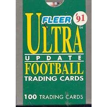 1991 Fleer Ultra Update Football Factory Set