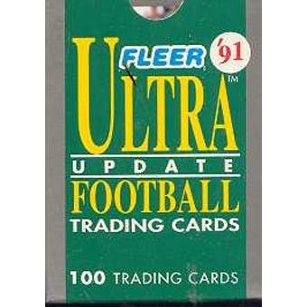 1991 Fleer Ultra Update Football Factory Set
