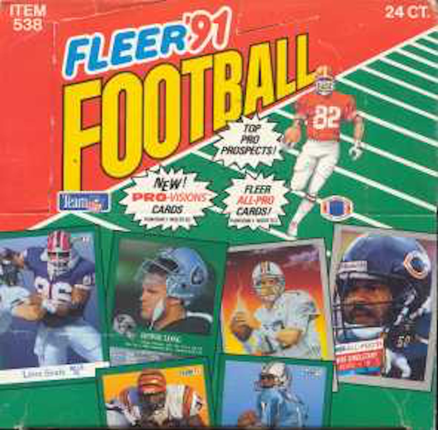 1991 Fleer Football Jumbo Box | DA Card World