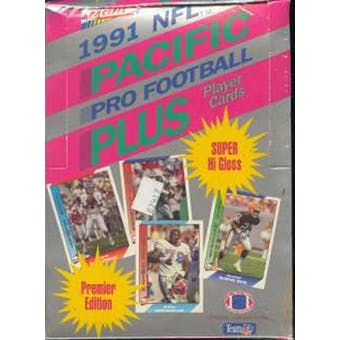 1991 Pacific Plus Series 1 Football Wax Box