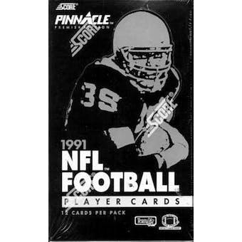 1991 Pinnacle Football Wax Box