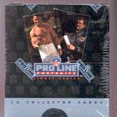 1991 Pro Line Portraits Football Wax Box (Reed Buy)