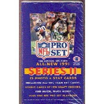 1991 Pro Set Series 2 Football Wax Box