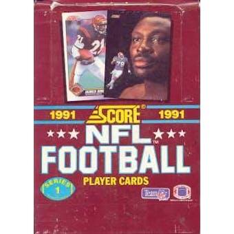 1991 Score Series 1 Football Wax Box