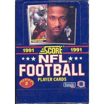 1991 Score Series 2 Football Wax Box