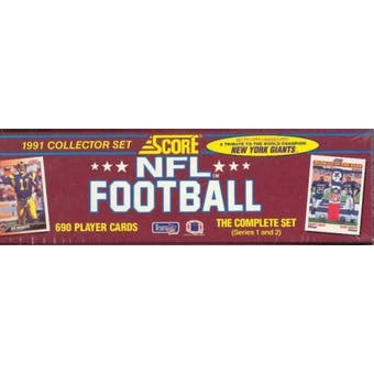 1991 Score Football Factory Set
