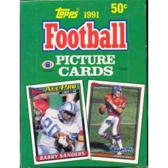 1991 Topps Football Wax Box