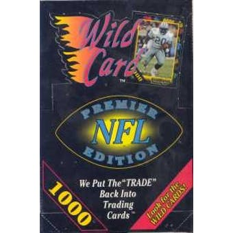 1991 Wild Card Football Wax Box (NFL)