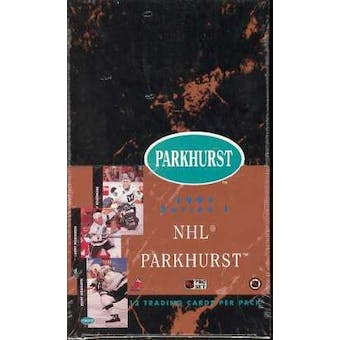 1991/92 Parkhurst U.S. Series 1 Hockey Hobby Box (Reed Buy)