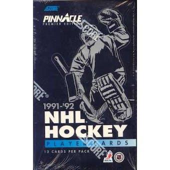 1991/92 Pinnacle U.S. Hockey Wax Box