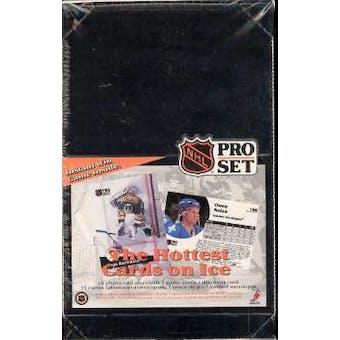 1991/92 Pro Set English Series 1 Hockey Box