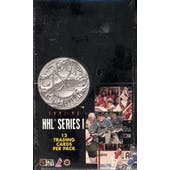 1991/92 Pro Set Platinum Series 1 Hockey Hobby Box (Reed Buy)