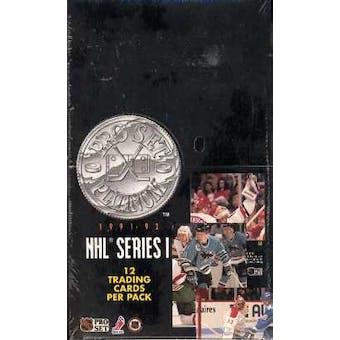 1991/92 Pro Set Platinum Series 1 Hockey Hobby Box
