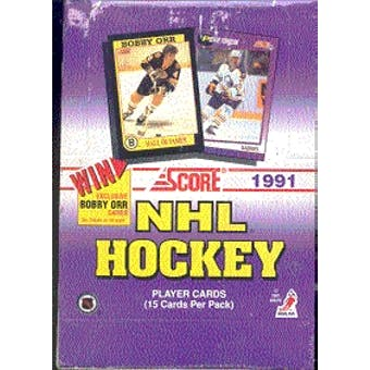1991/92 Score U.S. Hockey Hobby Box