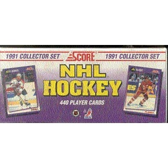 1991/92 Score U.S. Hockey Factory Set
