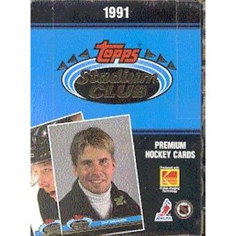 1991/92 Topps Stadium Club Hockey Hobby Box