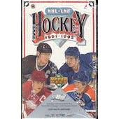 1991/92 Upper Deck English Low # Hockey Wax Box (Reed Buy)