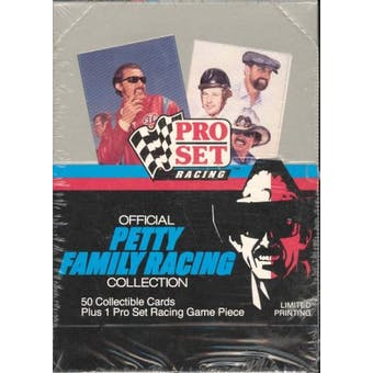 1991 Pro Set Petty Family Racing Collection Racing Box