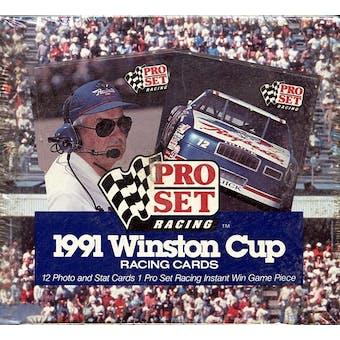 1991 Pro Set Winston Cup Racing Hobby Box