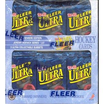 1992/93 Fleer Ultra Series 1 Hockey Retail Box