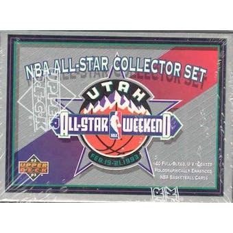 1992/93 Upper Deck All Star Basketball Set