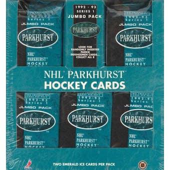 1992/93 Parkhurst Series 1 Hockey Jumbo Box