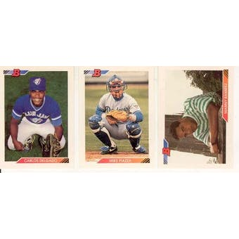 1992 Bowman Baseball Complete Set (NM-MT)