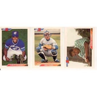 1992 Bowman Baseball Complete Set (NM-MT)