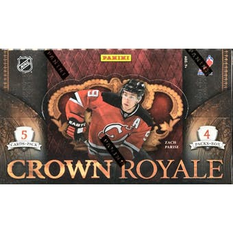 2010/11 Panini Crown Royale Hockey Hobby Box