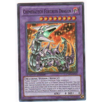 Yu-Gi-Oh Limited Edition Tin Single Chimeratech Fortress Dragon Super Rare CT07