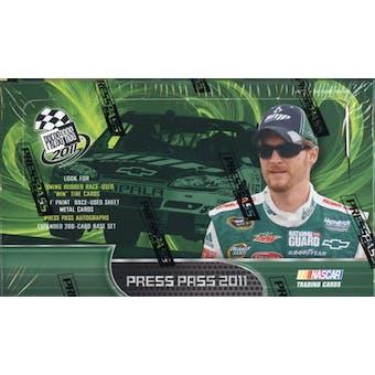 2011 Press Pass Racing Hobby Box