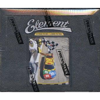 2011 Press Pass Element Racing Hobby Box