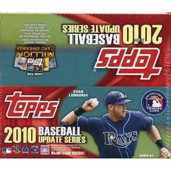 2010 Topps Update Baseball 24-Pack Box
