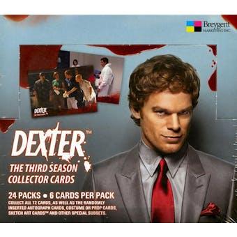 Dexter Season 3 Hobby Box (2010 Breygent)