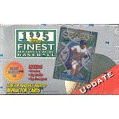 1995 Topps Finest Update Baseball Hobby Box