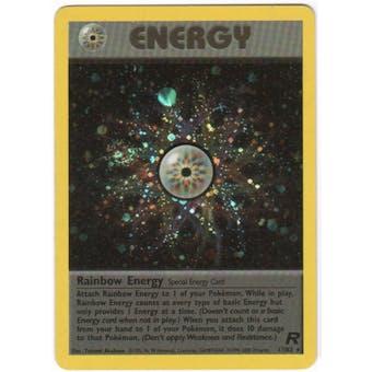 Pokemon Team Rocket Single Rainbow Energy 17/82