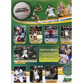 2010 Ace Authentic Secret Tennis Signatures Series 2 Hobby Box (Pack)