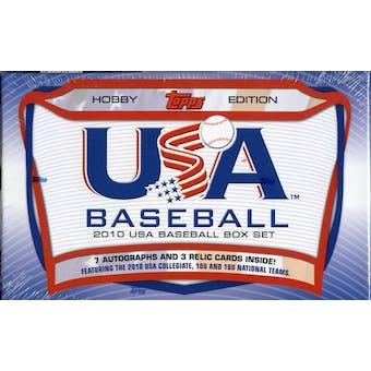 2010 Topps USA Baseball Team Factory Set (Box)