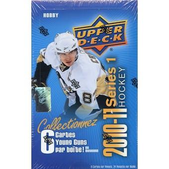 2010/11 Upper Deck Series 1 French Hockey Hobby Box