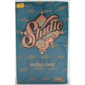 1992 Leaf Studio Baseball Hobby Box (Reed Buy)