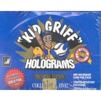 1992 Arena Griffey Hologram Baseball Hobby Box