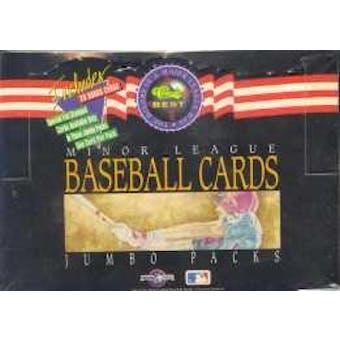 1992 Classic Best Minor League Baseball Jumbo Box