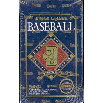 1992 Donruss Series 1 Baseball Hobby Box