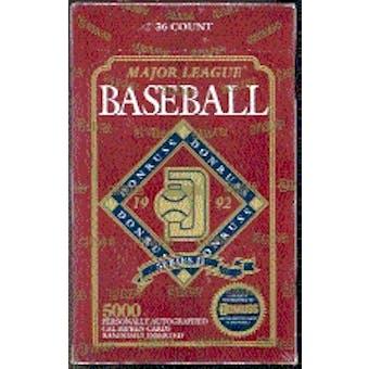 1992 Donruss Series 2 Baseball Hobby Box