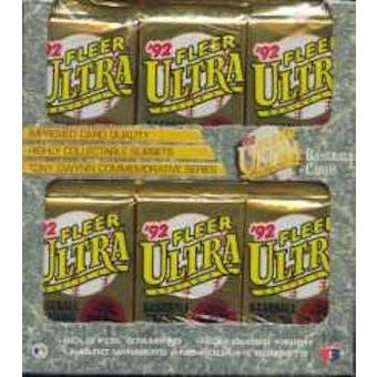 1992 Fleer Ultra Series 1 Baseball Jumbo Box